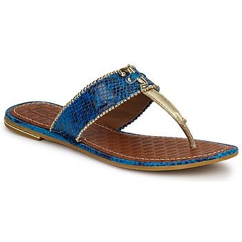 Schoenen Dames Sandalen / Open schoenen Juicy Couture ADELINE Bright / Blauw / Slang