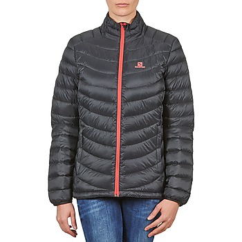 Textiel Dames Dons gevoerde jassen Salomon Jacket HALO DOWN JACKET W BLACK Zwart