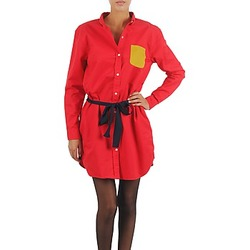 Textiel Dames Korte jurken Petit Bateau CASH Rood