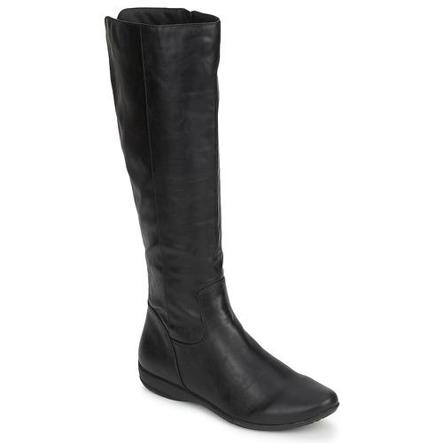 Schoenen Dames Hoge laarzen Moony Mood GURLEN Zwart