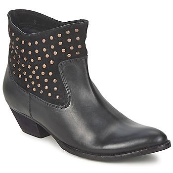 Schoenen Dames Enkellaarzen Friis & Company DUBAI FLIC Zwart