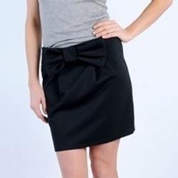 Textiel Dames Rokken Tcqb JUPE SALLY NOIRE Zwart