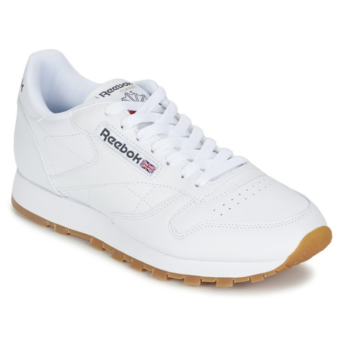 Schoenen Lage sneakers Reebok Classic CLASSIC LEATHER Wit