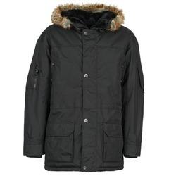 Textiel Heren Parka jassen Casual Attitude DILAN Zwart