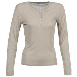 Textiel Dames T-shirts met lange mouwen Casual Attitude DORINE Taupe