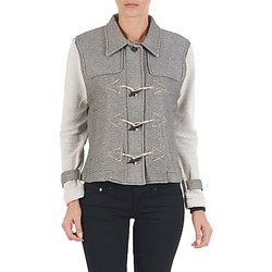Textiel Dames Wind jackets Diesel G-JAYA-A SWEAT-SHIRT Grijs