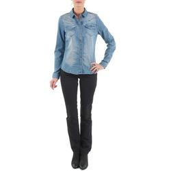Textiel Dames Straight jeans Diesel MYBOY TROUSERS Zwart