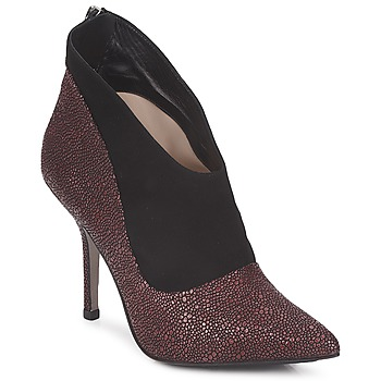 Schoenen Dames Low boots Paco Gil BILINE Bordeau / Zwart