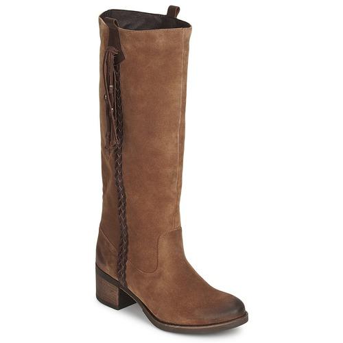 Schoenen Dames Hoge laarzen Betty London ELOANE Bruin