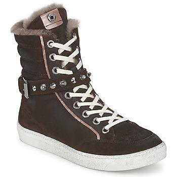 Schoenen Dames Hoge sneakers Janet Sport MOROBRAD Bruin