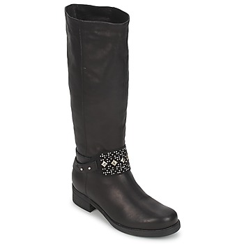 Schoenen Dames Hoge laarzen Janet&Janet VAN BRADNER Zwart