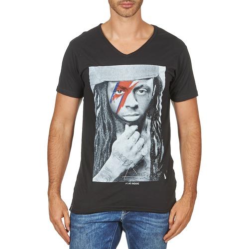 Textiel Heren T-shirts korte mouwen Eleven Paris KAWAY M MEN Zwart