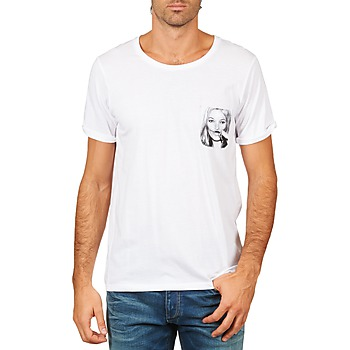 Textiel Heren T-shirts korte mouwen Eleven Paris KMPOCK MEN Wit