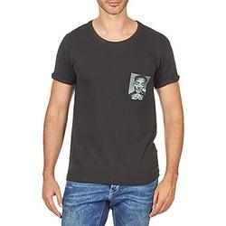Textiel Heren T-shirts korte mouwen Eleven Paris WOLYPOCK MEN Zwart