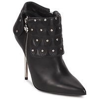Schoenen Dames Enkellaarzen Versace DSL894P Zwart