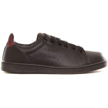 Schoenen Dames Lage sneakers Cassis Côte d'Azur Baskets Marine noir et bordeaux Zwart