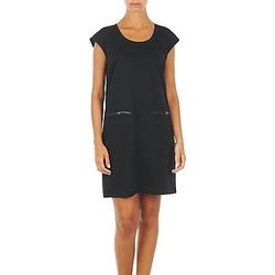 Textiel Dames Korte jurken Vero Moda CELINA S/L SHORT DRESS Zwart