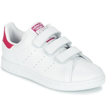 Schoenen Meisjes Lage sneakers adidas Originals STAN SMITH CF C Wit