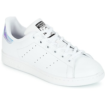 Schoenen Meisjes Lage sneakers adidas Originals STAN SMITH J Wit