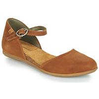 Schoenen Dames Sandalen / Open schoenen El Naturalista STELLA Bruin
