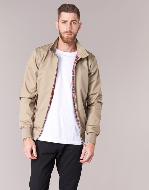 Textiel Heren Wind jackets Harrington HARRINGTON PAUL Beige