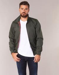 Textiel Heren Wind jackets Harrington HARRINGTON PAULO Kaki