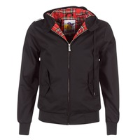 Textiel Heren Wind jackets Harrington HARRINGTON HOODED Zwart