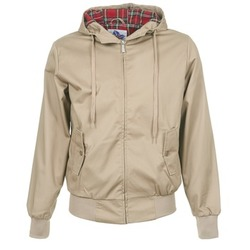 Textiel Heren Wind jackets Harrington HARRINGTON HOODED Beige