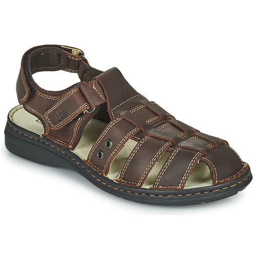 Schoenen Heren Sandalen / Open schoenen TBS BARROW Bruin