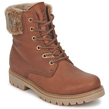 Schoenen Dames Laarzen Panama Jack FELICIA Bruin