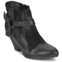 Schoenen Dames Low boots Strategia SANGLA Zwart / Zilver