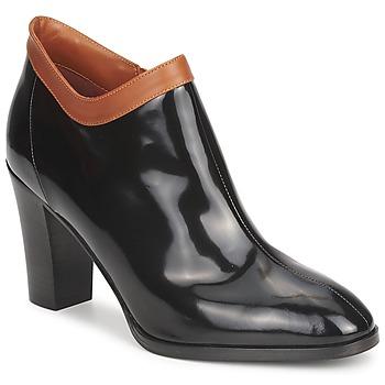 Schoenen Dames Low boots Sonia Rykiel 654802 Zwart / Oker