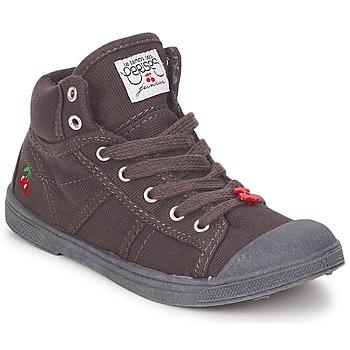 Schoenen Kinderen Hoge sneakers Le Temps des Cerises BASIC-03 KIDS Bruin