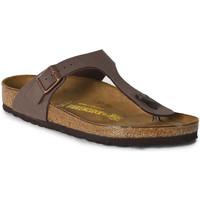 Schoenen Dames Sandalen / Open schoenen Birkenstock Gizeh marron