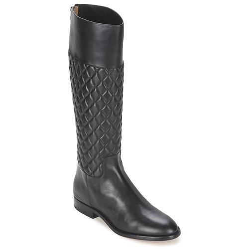 Schoenen Dames Hoge laarzen Michael Kors MINA Zwart