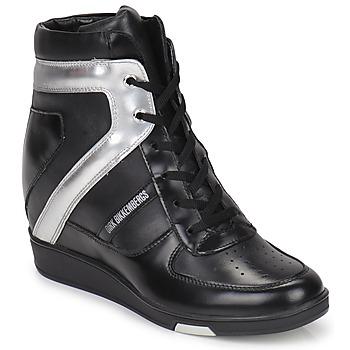 Schoenen Dames Hoge sneakers Bikkembergs JODIE 2 Zwart