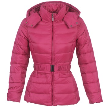 Textiel Dames Dons gevoerde jassen Benetton FRIBOURGA Roze