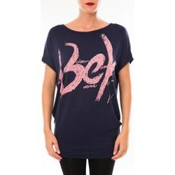 Textiel Dames T-shirts korte mouwen Vera & Lucy Top MC3071 marine Blauw