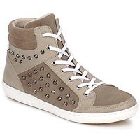 Schoenen Dames Hoge sneakers Yurban ALTOUVE Taupe