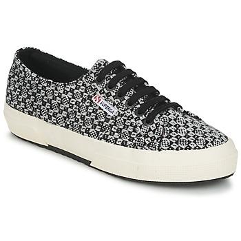 Schoenen Dames Lage sneakers Superga 2750 FANTASY Zwart / Wit