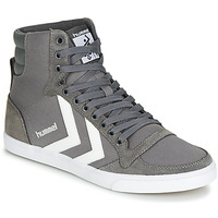 Schoenen Hoge sneakers Hummel TEN STAR HIGH Grijs / Wit