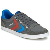 Schoenen Lage sneakers Hummel TEN STAR LOW CANVAS Grijs / Blauw / Rood