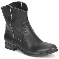 Schoenen Dames Laarzen n.d.c. SAN MANUEL CAMARRA SLAVATO Zwart