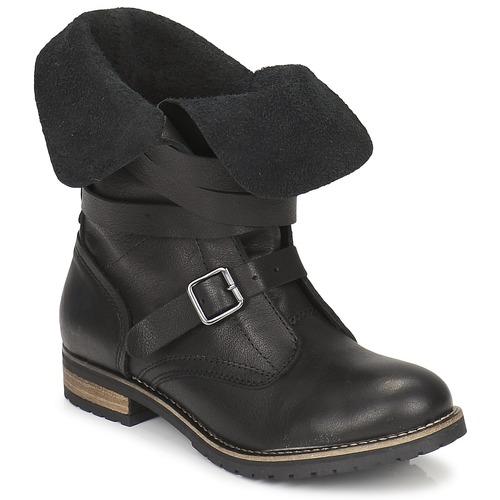 Schoenen Dames Laarzen Casual Attitude GRAVINE Zwart