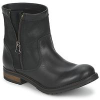Schoenen Dames Laarzen Casual Attitude ISPINI Zwart