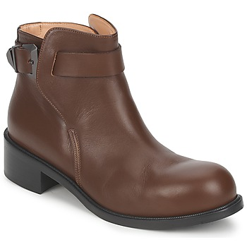 Schoenen Dames Laarzen Kallisté 5723 Bruin