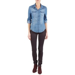 Textiel Dames Skinny jeans Replay LUZ Violet