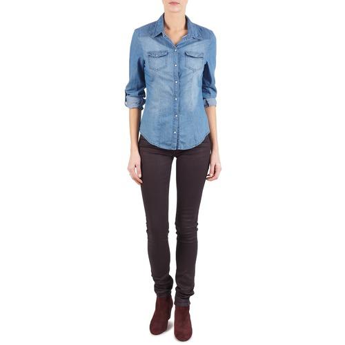 Textiel Dames Skinny jeans Replay LUZ Violet