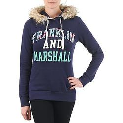 Textiel Dames Sweaters / Sweatshirts Franklin & Marshall COWICHAN Marine