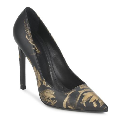 Schoenen Dames pumps Roberto Cavalli WDS211 Zwart